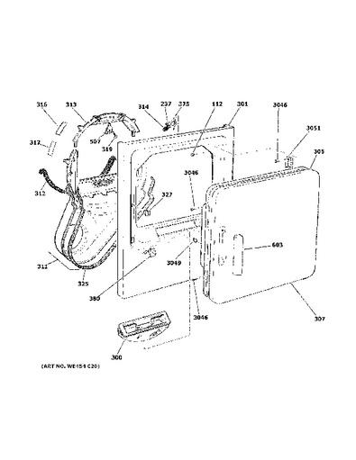 clothes dryer wire diagram