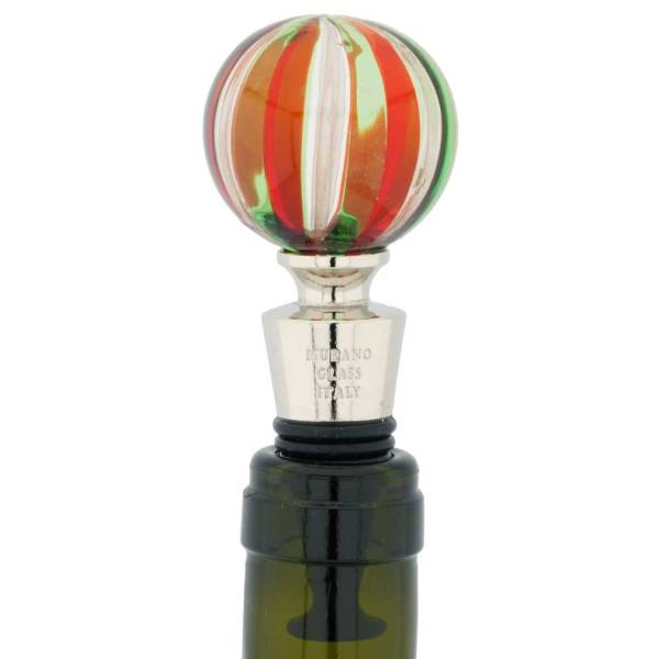 Murano Wine Stoppers Glass Wine Stoppers Glass Bottle