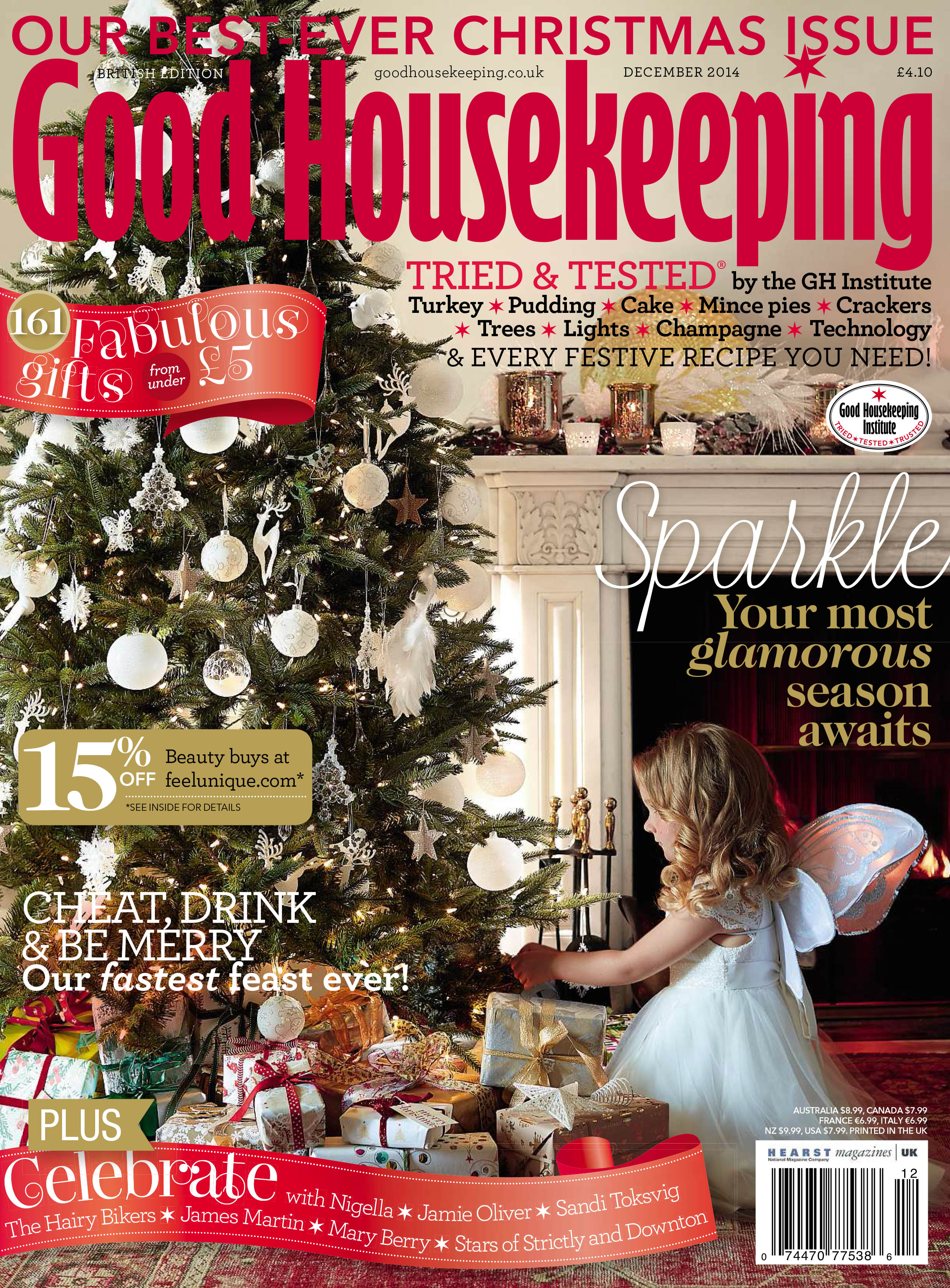 Good Housekeeping December 2014 Issue Is Out Now Good