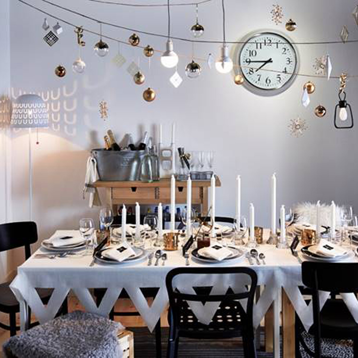 New Years Eve home decorations  Good Housekeeping
