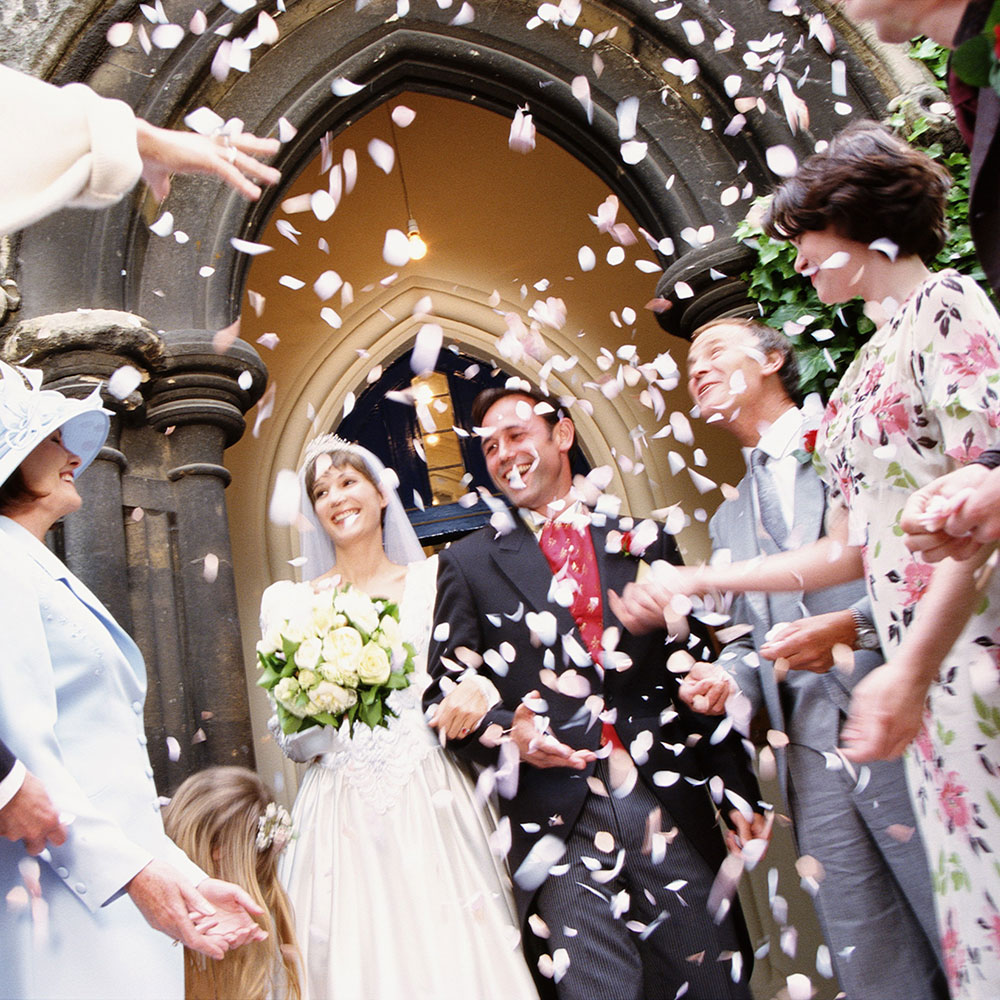 Why Do We Throw Confetti At Weddings Good Housekeeping