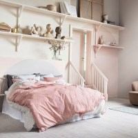 12 pink and grey bedroom ideas