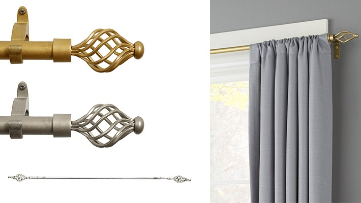 steel curtain rods gosawa beirut deal