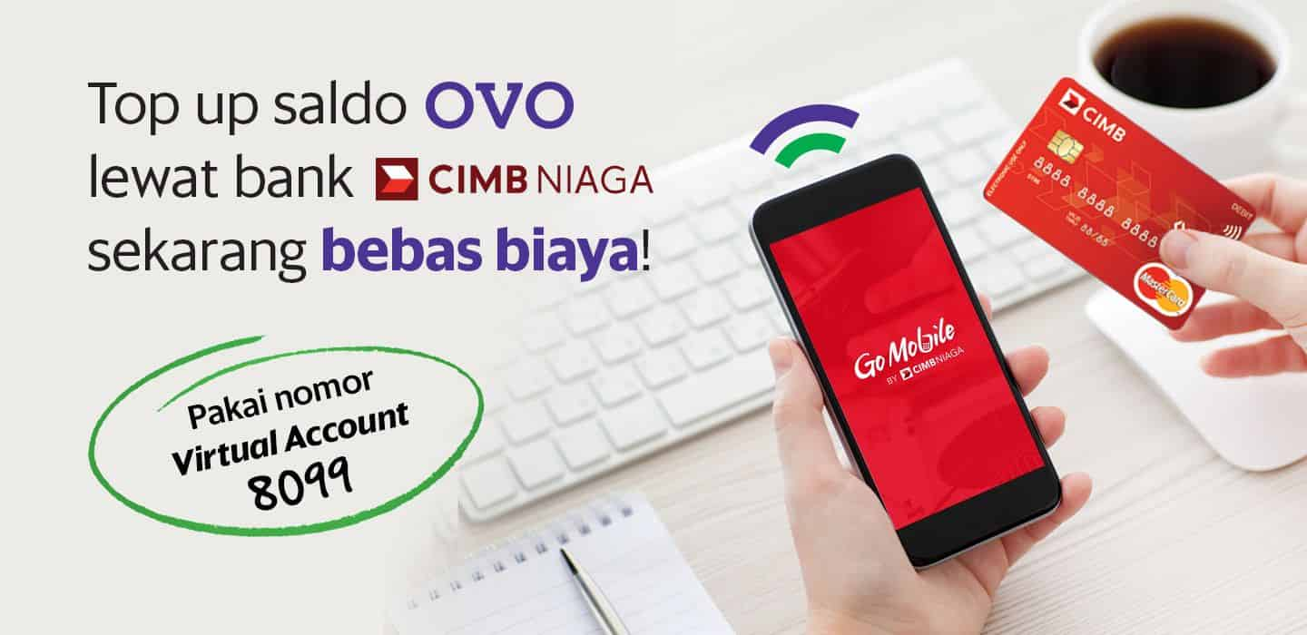 Cobain Mudahnya Top Up Saldo Ovo Lewat Virtual Account Bank Cimb Niaga Grab Id