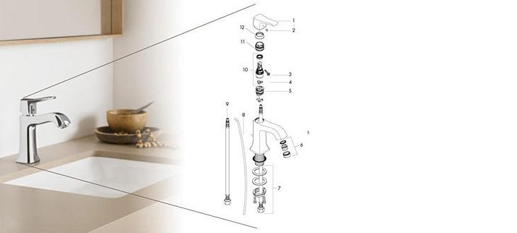Shower parts and faucet parts online shop