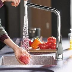 3 Hole Kitchen Faucets Used Cabinets 厨房龙头 厨房水龙头 厨卫水龙头 Hansgrohe Cn 具有两种喷淋形式的现代厨房水龙头