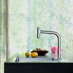 New Kitchen Sink Win Makeover 新特性 增加厨房水槽旁的舒适感 Hansgrohe Cn 汉斯格雅m71系列拥有独立的控制元件