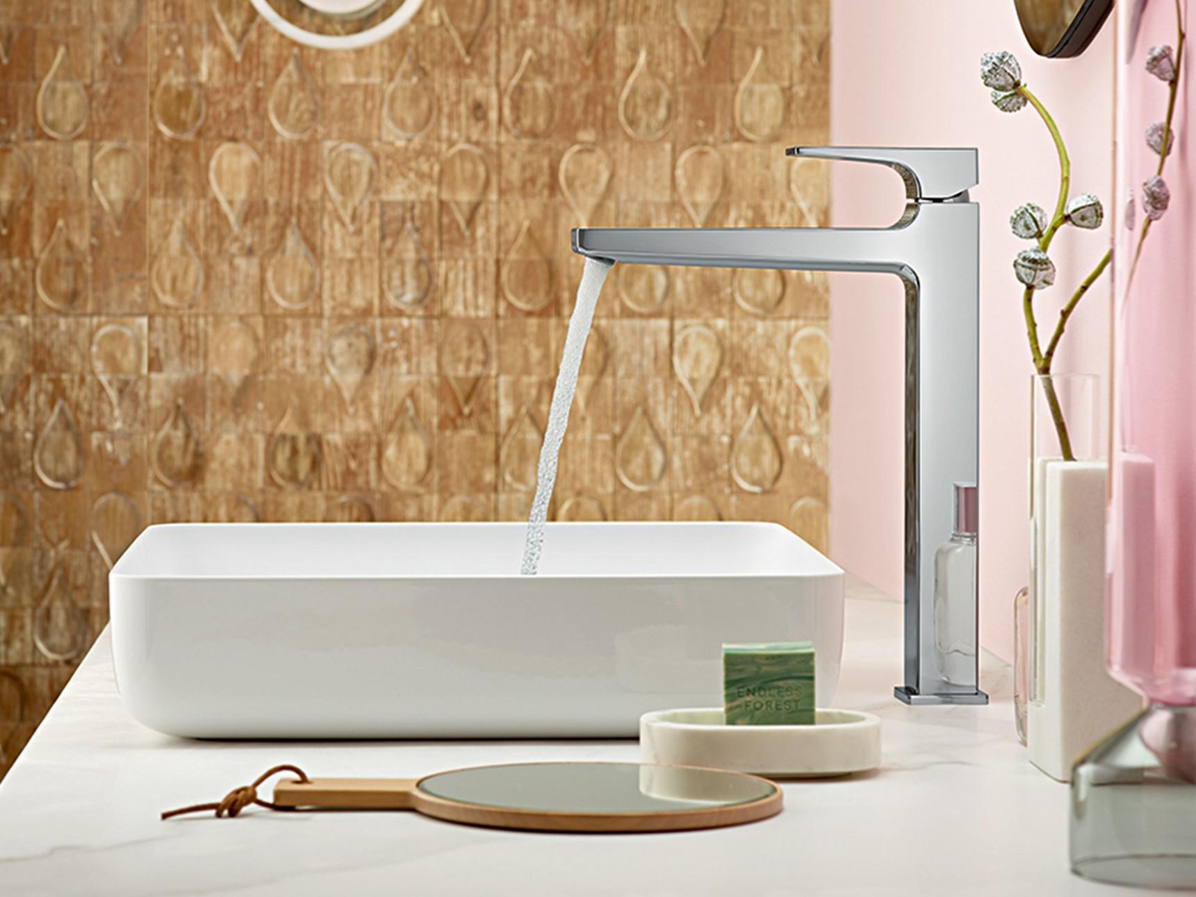 wash basins showers and bath tubs