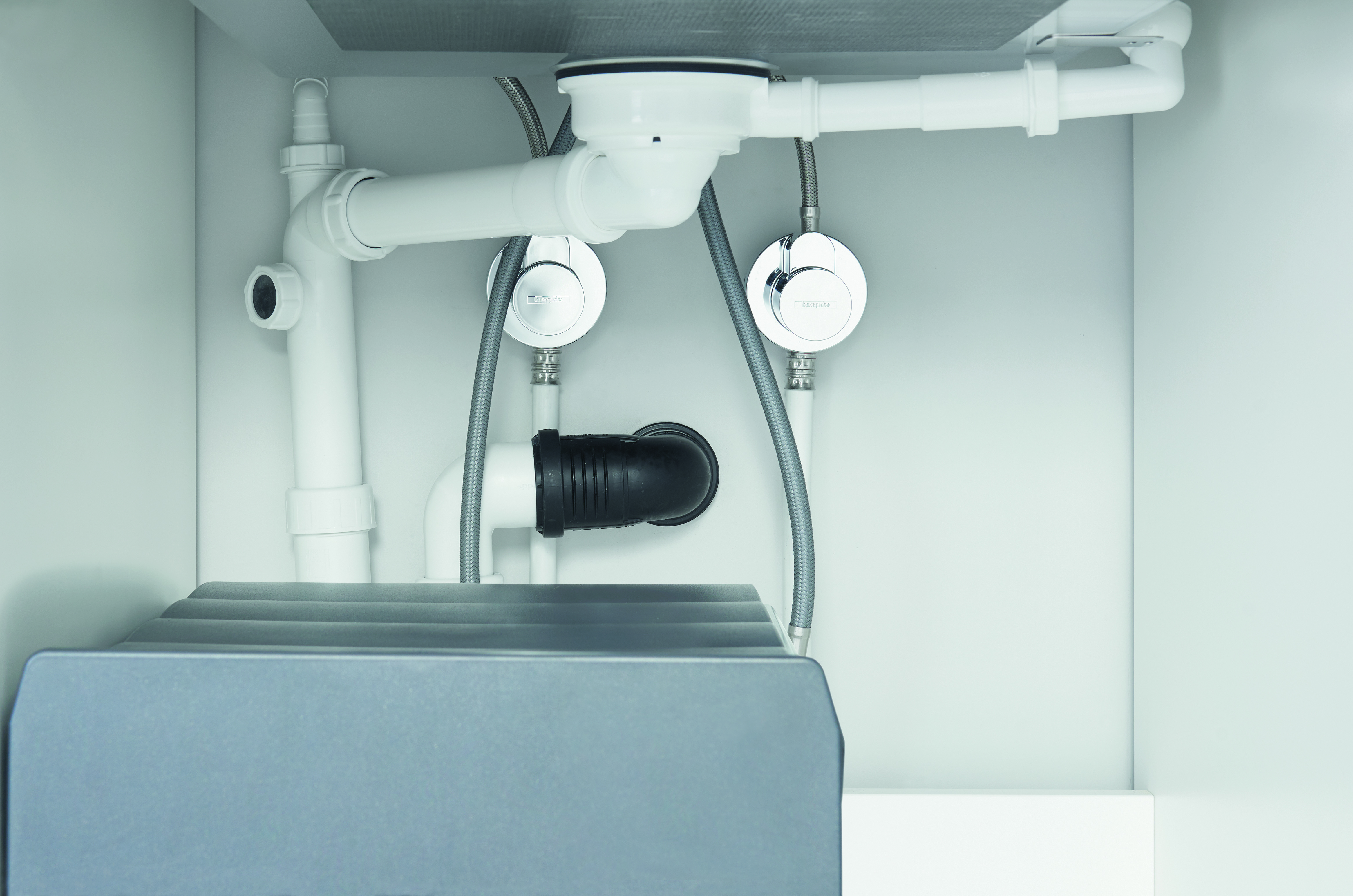 waste systems for stainless steel and