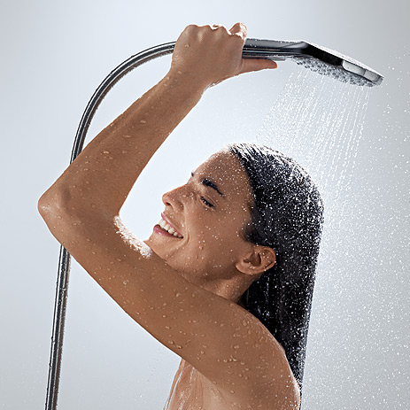 Hansgrohe Select Water at the touch of a button