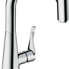 Hansgrohe Kitchen Faucet Stonewall Com Taps Your New Tap For The Int M7115 H240 Single Lever Mixer With Pull Out Spout