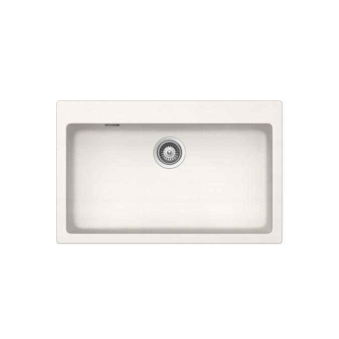 kitchen sink materials country islands 雅生 水槽: axor made by schock, 花岗岩水槽 signus n-100 xl, 43003100