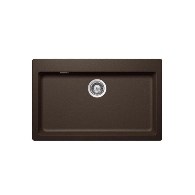 deep kitchen sink unique decor 雅生 水槽: axor made by schock, 花岗岩水槽 signus n-100 xl, 43003300