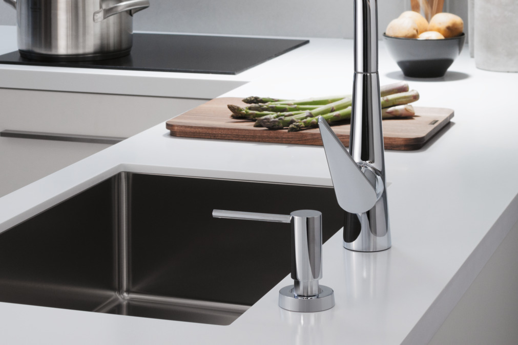 kitchen mixers zephyr hood hansgrohe m51 m5115 h300 single lever mixer with pull out spout