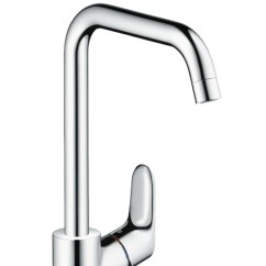 Kitchen Mixers Houzz Outdoor Kitchens Hansgrohe Focus Single Lever Mixer 260 With Device Shut Off Valve