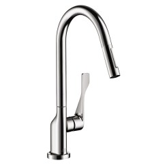Axor Kitchen Faucet Farmhouse Lighting Faucets Citterio 2 Spray Higharc Pull Down 1 75 Gpm