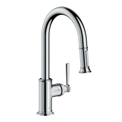 Axor Kitchen Faucet Stone Backsplash Faucets Montreux 2 Spray Higharc Pull Down 1 75 Gpm