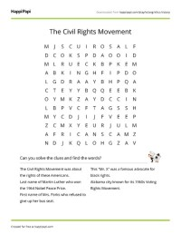 All Worksheets  Civil Rights Worksheets - Printable ...