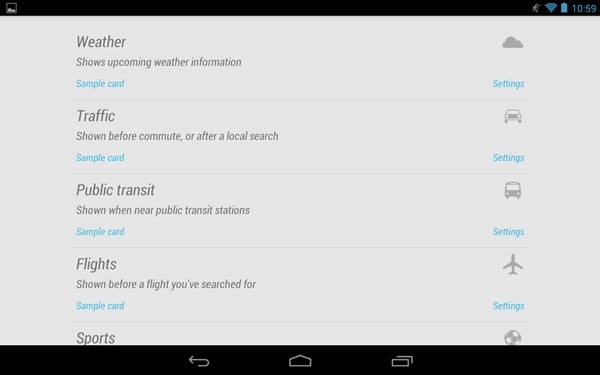 Features of Android 4.1 Jelly Bean : Google Nexus 7