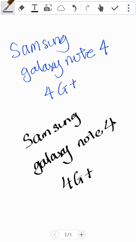 Software Features : Samsung Galaxy Note 4 4G+: More than