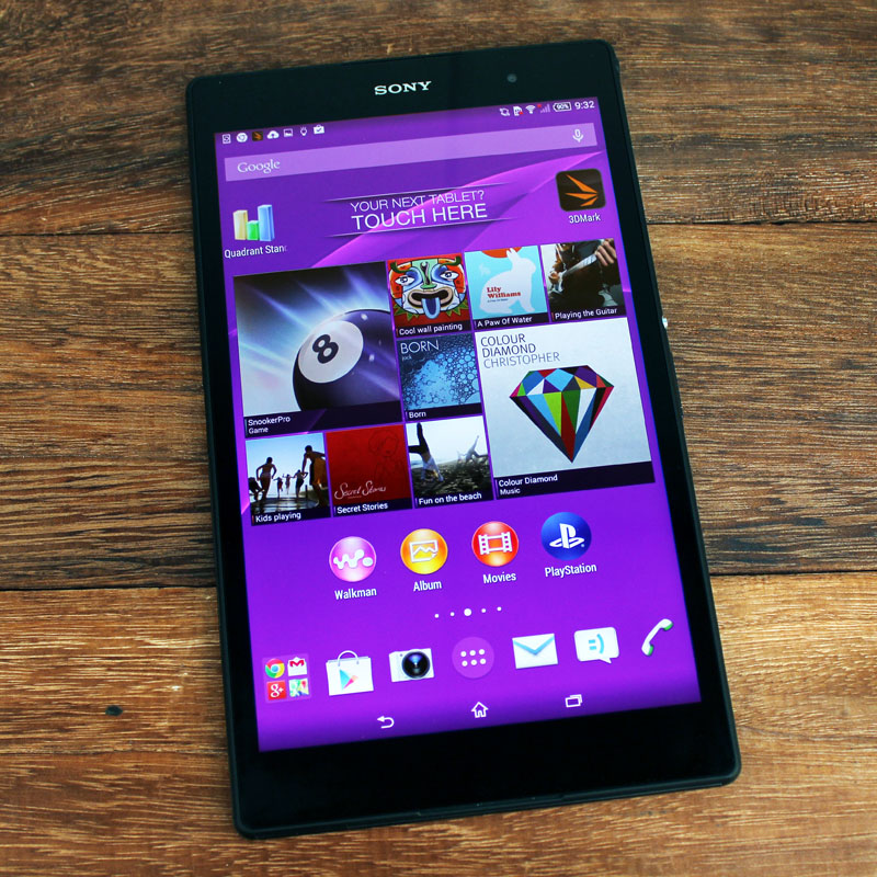 Sony Xperia Z3 Tablet Compact Better than the iPad mini