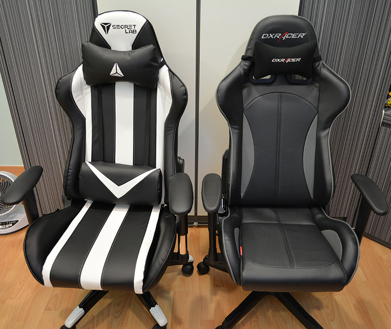 dxracer chair cover chairs for weddings secretlab throne a value oriented and functional gaming the set beside formula series oh fe57 ng