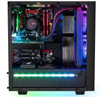 The NZXT Hue+ is a smart, custom lighting solution that