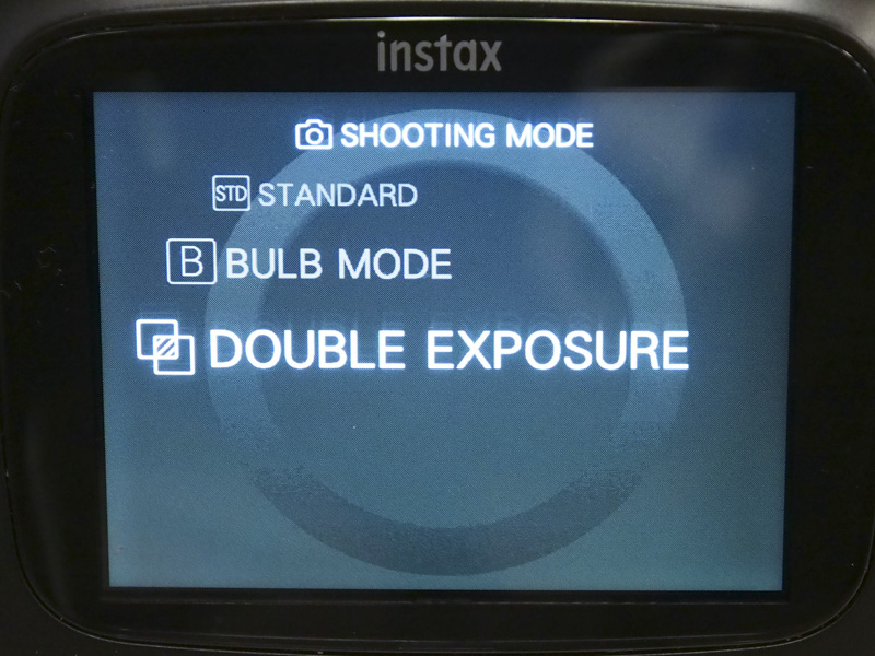 Three shooting modes are available.