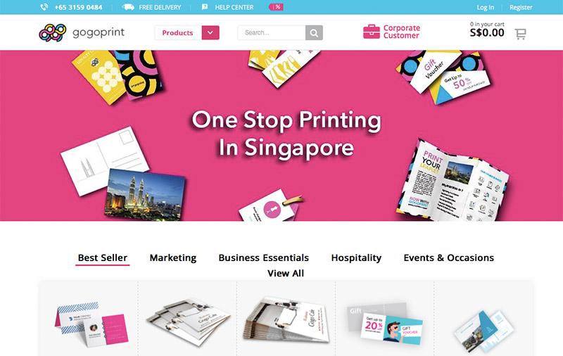 online printing startup gogoprint