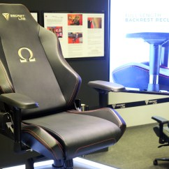How Much Does A Gaming Chair Weight Swing Outdoor Chairs Desks It Show 2018 Highlights Hardwarezone Com Sg The Secretlab Omega Has Been Updated With New Upgraded Construction And Inner Cold Cured Foam To Spread Support Your More Evenly