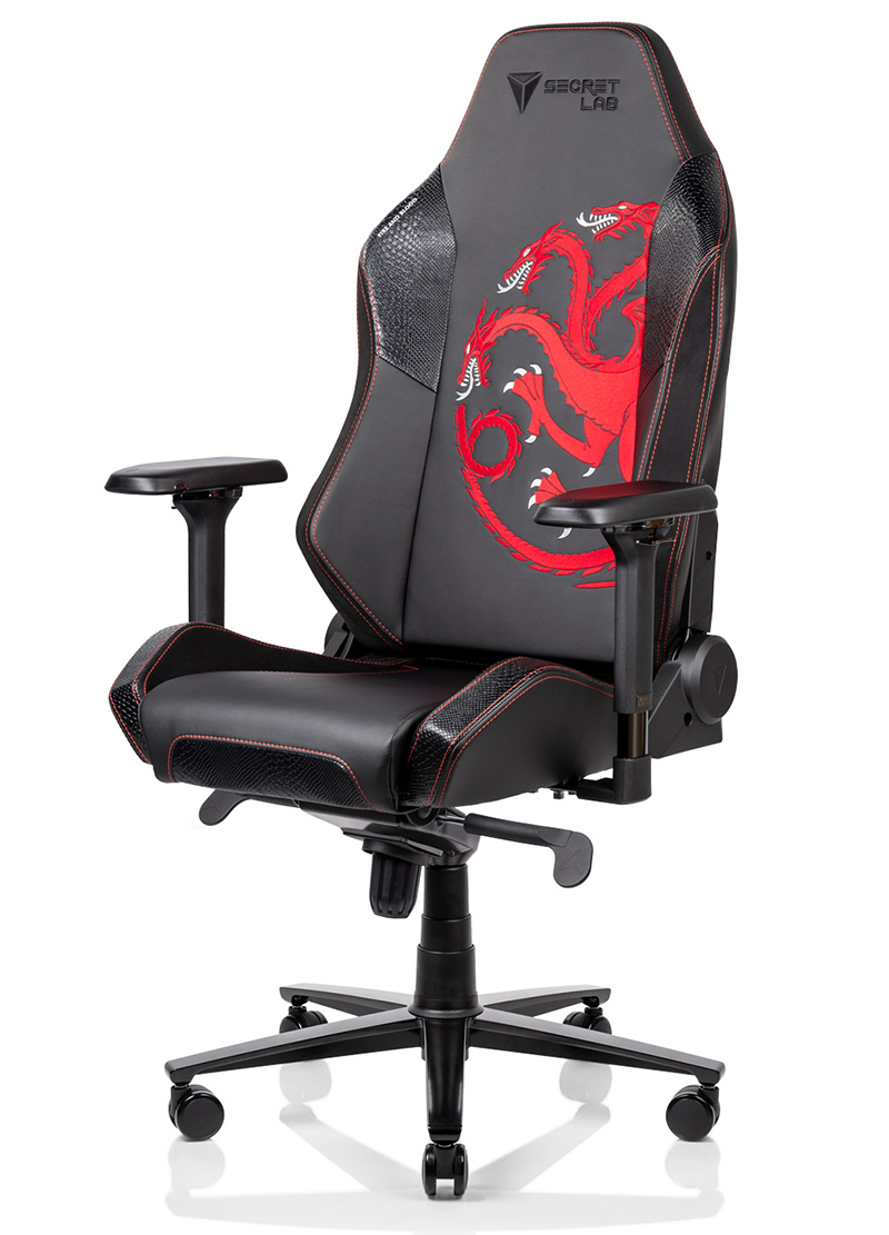 Will Chair Secretlab S Game Of Thrones Gaming Chairs Will Let You Swear