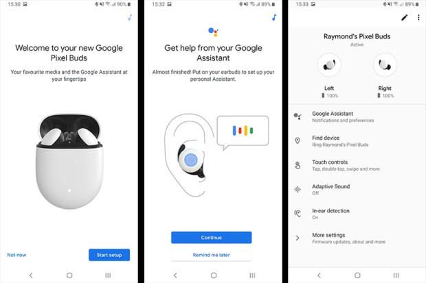Google Pixel Buds Android App
