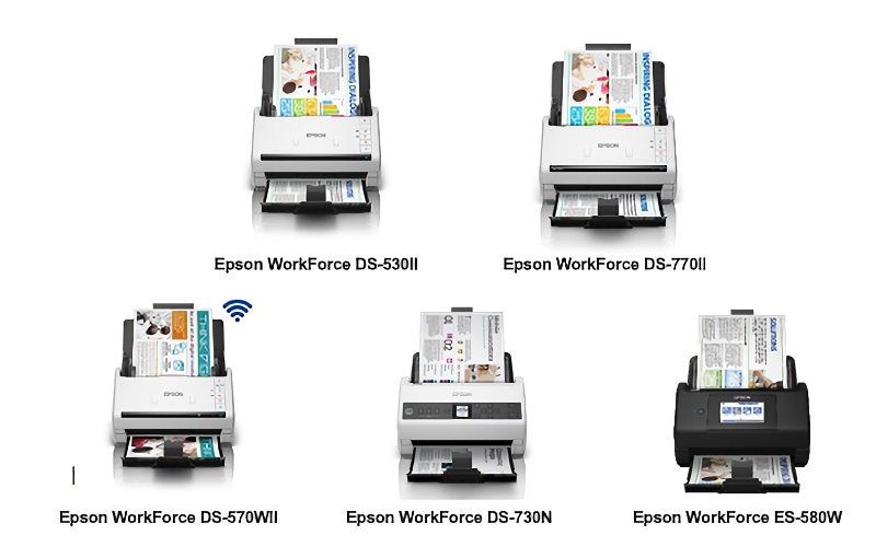 New Epson WorkForce scanners want to help make paperless