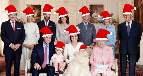 Image result for royal family xmas photo