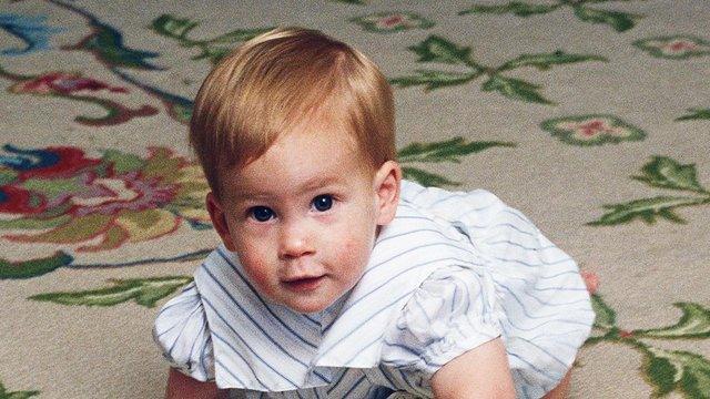 Prince Harry's Adorable Baby Photos He'd Probably Not Want ...