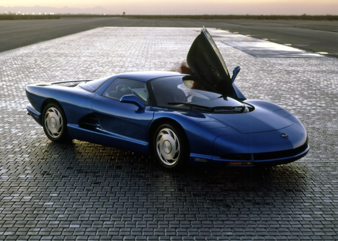cars of futures past – 1986 corvette indy concept | hemmings daily