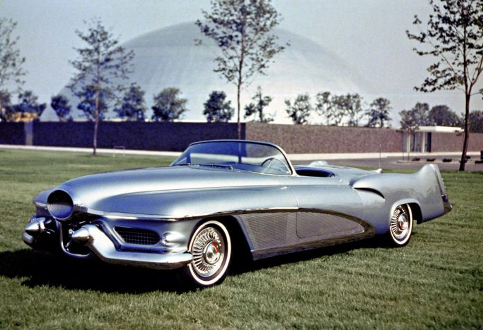 cars of futures past – 1951 gm le sabre concept | hemmings daily