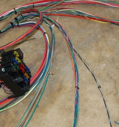 in our garage installing a new wiring harness hemmings daily insulated custom wiring harness universal car stereo wiring harness on [ 3008 x 2000 Pixel ]