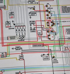 in our garage installing a new wiring harness hemmings dailycolor wiring diagram from colorwiringdiagrams com [ 3008 x 2000 Pixel ]
