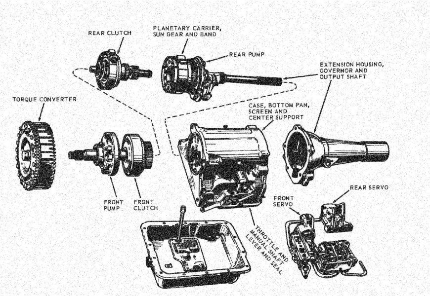 1955 ford customline engine