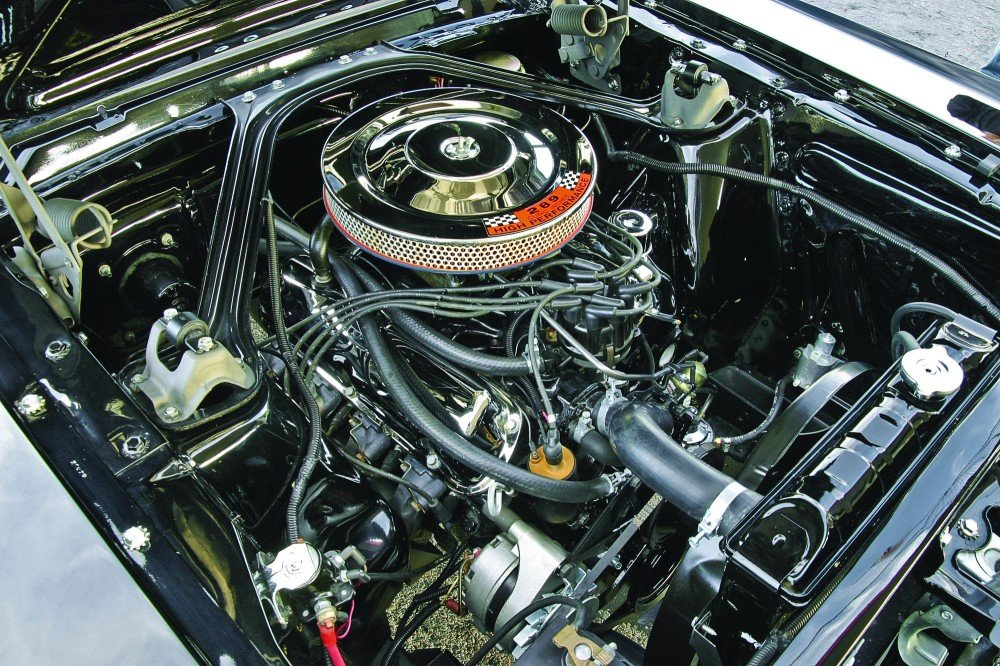 1966 mustang 289 engine how to read solenoid valve diagrams 1964 1 2 67 ford k code hemmings motor news image 8 of 13 photo courtesy matthew litwin terry mcgean chrome rocker arm