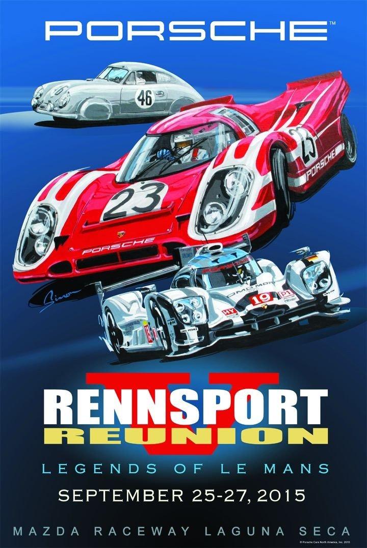 Rennsport Reunion V Poster