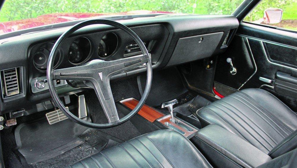 1969 Pontiac Le Mans Interior