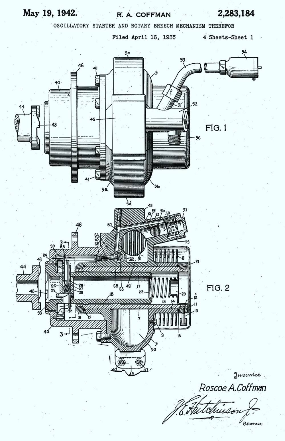 hight resolution of photo courtesy us patent office coffman combustion starters