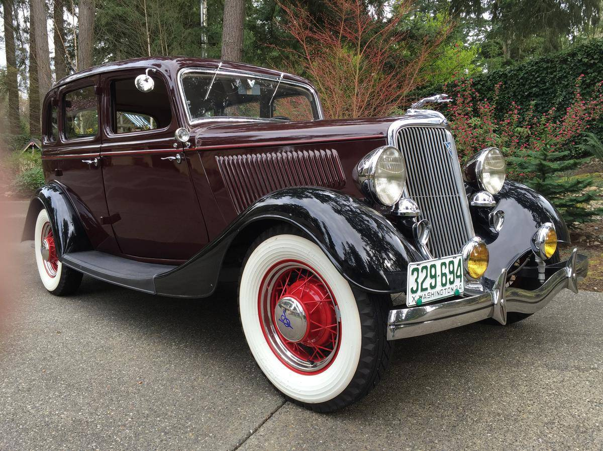 for sale on hemmings 1934 ford model 40 fordor sedan deluxe automotive american. Black Bedroom Furniture Sets. Home Design Ideas