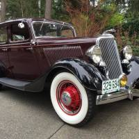 For Sale on Hemmings - 1934 Ford Model 40 Fordor Sedan Deluxe