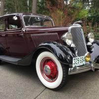 For Sale on Hemmings - 1934 Ford Model 40 Fordor Sedan Deluxe