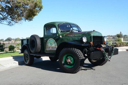 1946 1950 Dodge Power Wagon Sale