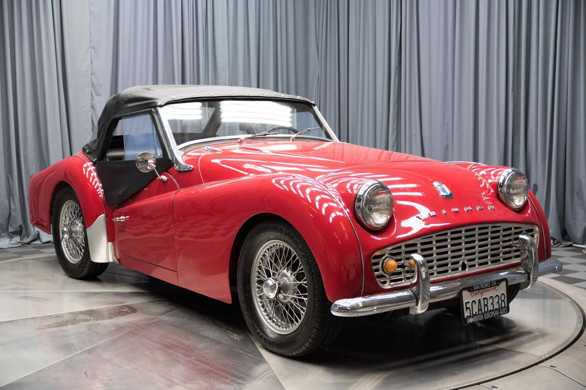 Triumph Tr3 - Year of Clean Water