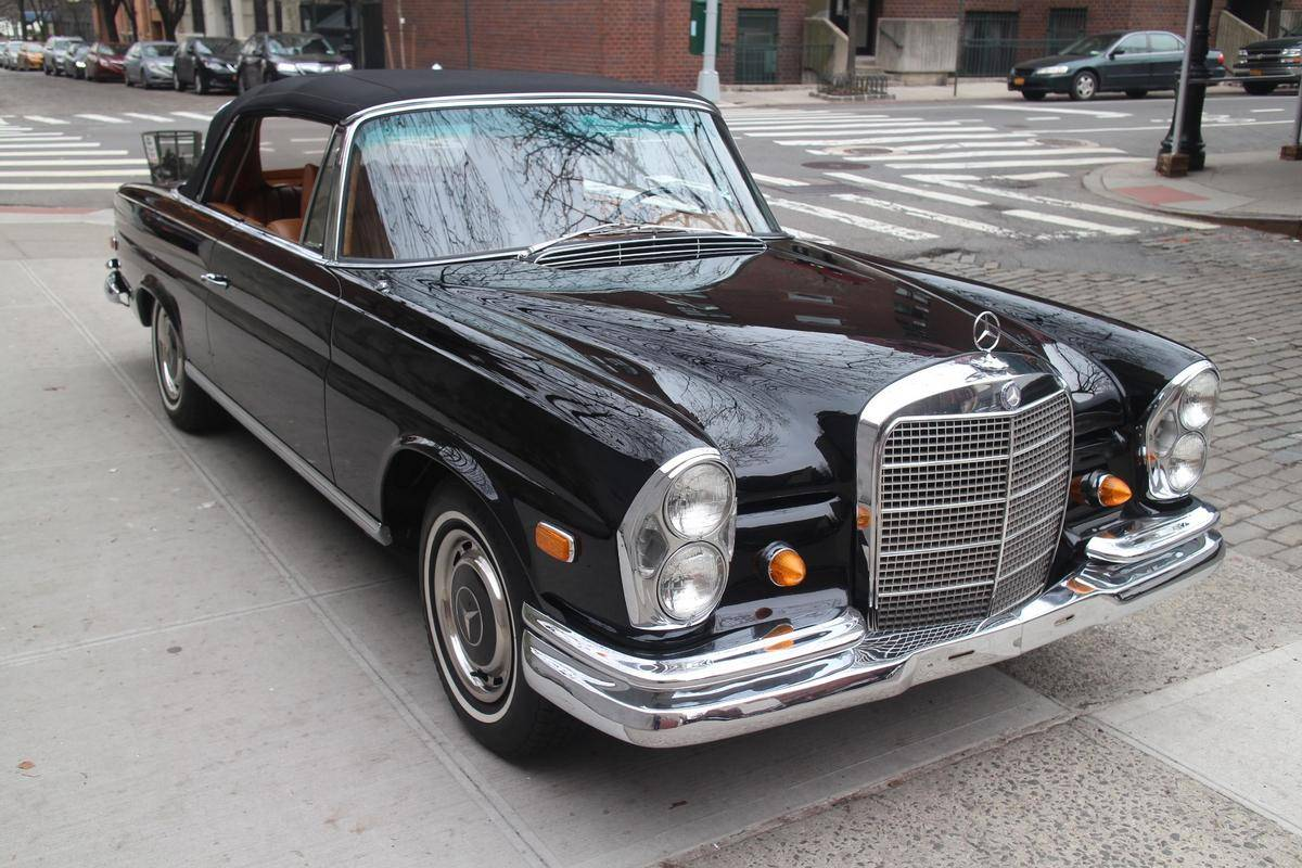 hight resolution of 1968 mercedes benz 280se for sale 2082443 hemmings motor news 1 of 50